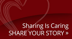 Sharing is caring. Share your story.